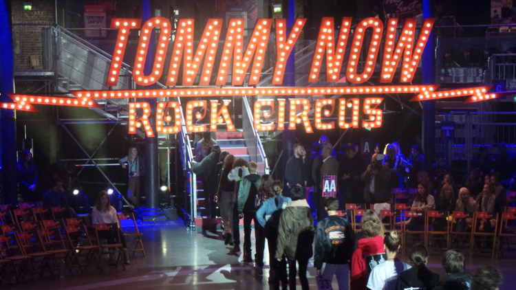 Tommy Now Roundhouse Links Broadcast
