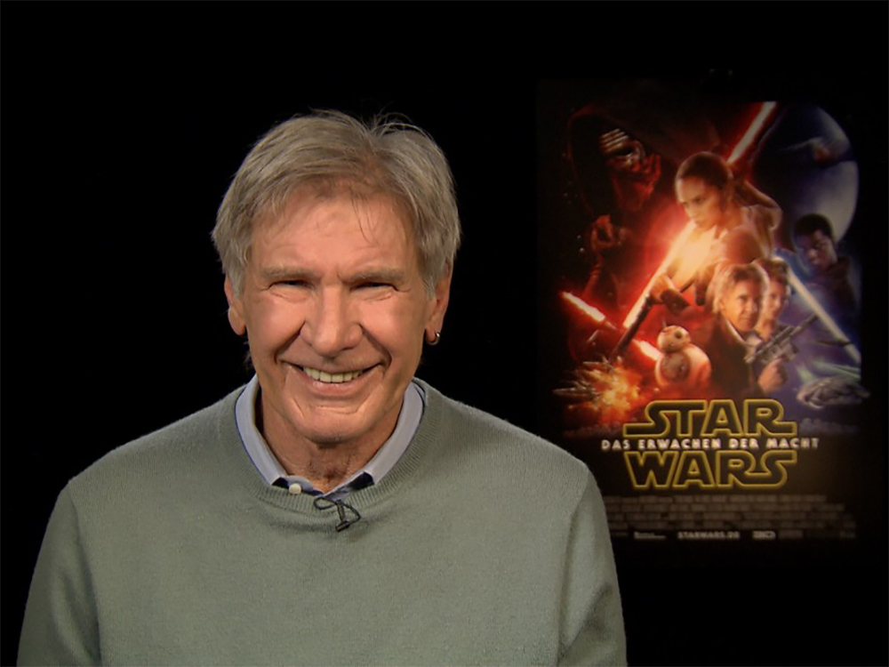 Harrison Ford Interview Links Broadcast