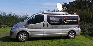 Satellite IP Services Links Broadcast