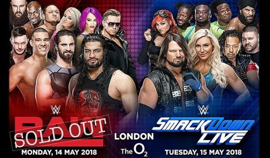 WWE O2 Links Broadcast