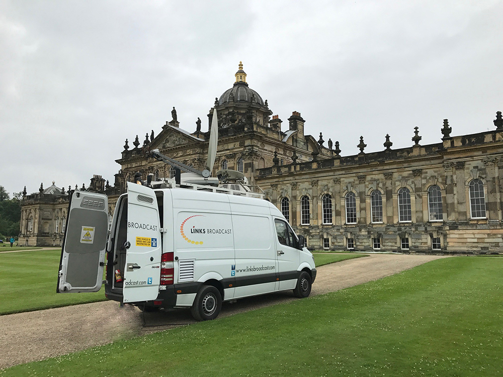 Big Screen Event Castle Howard Links Broadcast