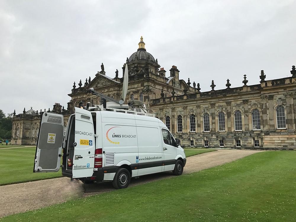 Big Screen Event Castle Howard Links Broadcast