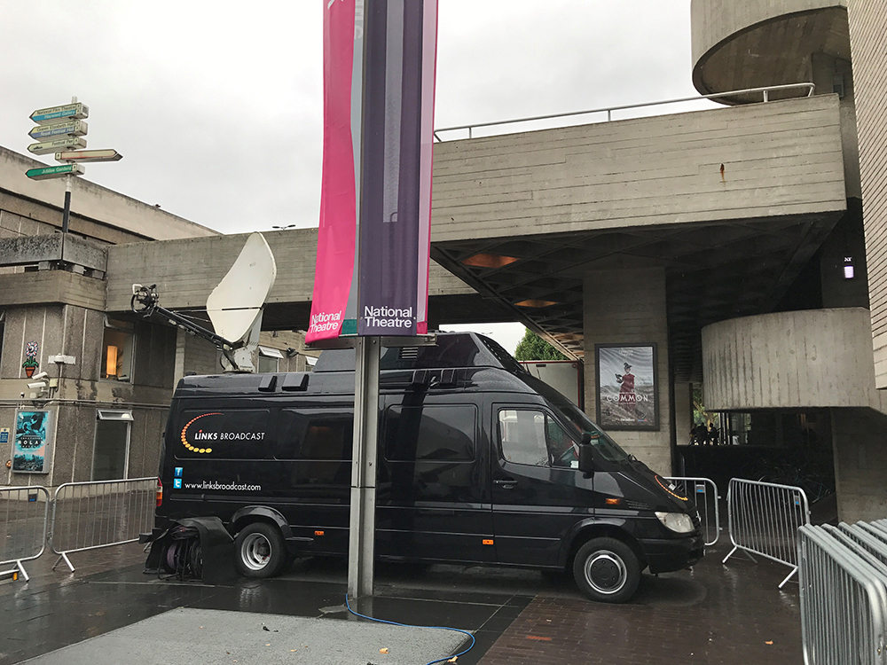 National Theatre Live Event Cinema Links Broadcast