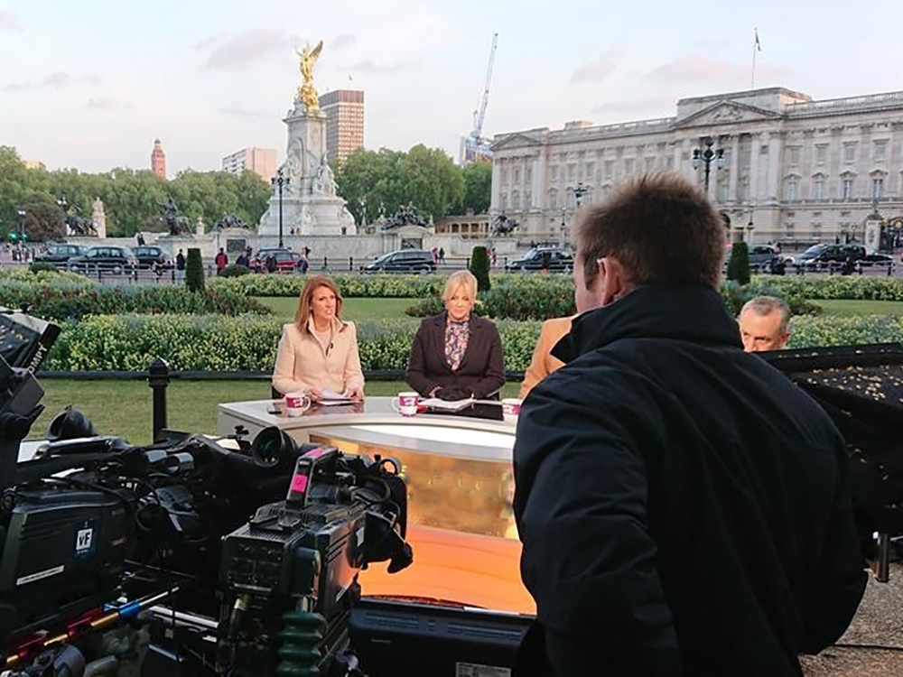 Royal Wedding Multicam Production Links Broadcast