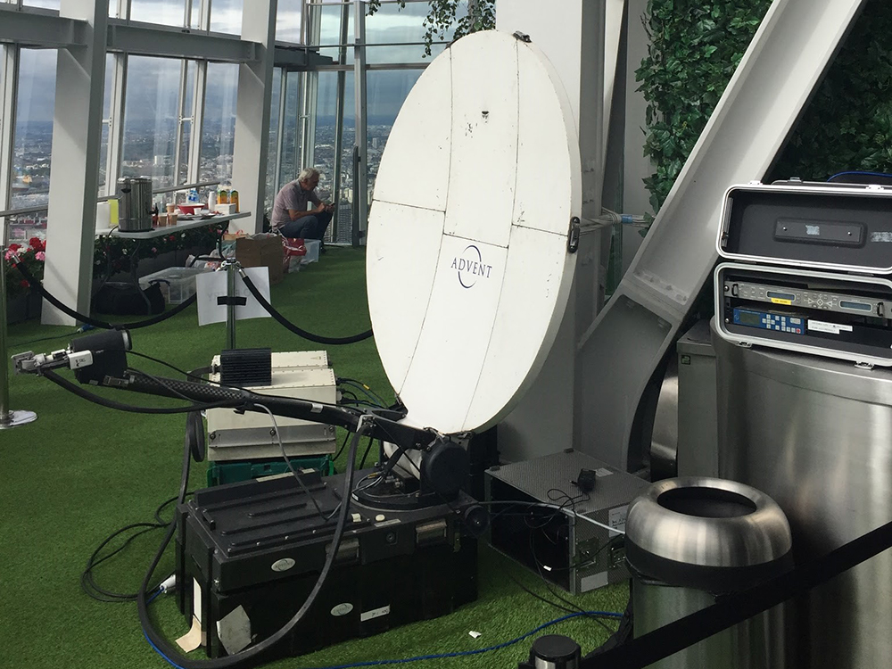 The Shard Downlink Uplink Event Links Broadcast