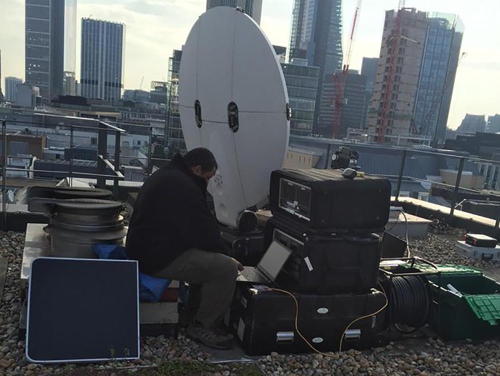 Two Way Uplink Flyaway London Links Broadcast