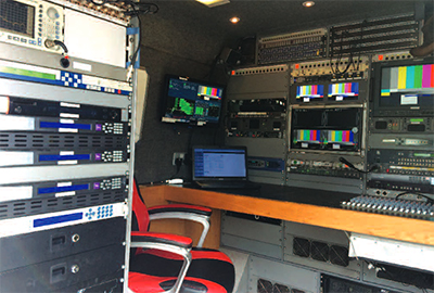 OB Vans HX56 LUL Links Broadcast