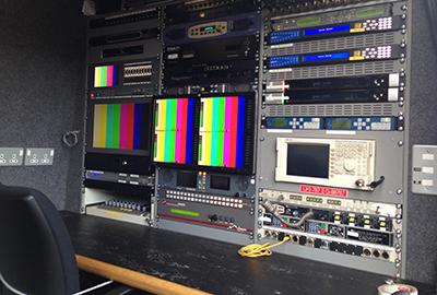 OB Vans R19 SNG Links Broadcast