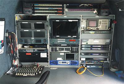OB Vans S200 SNG Links Broadcast