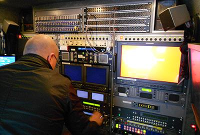 OB Vans S700 SNG 4K Links Broadcast