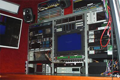 OB Vans S800 SNG Links Broadcast
