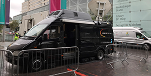 SNG Uplink Truck Facilities Outside Broadcast Services Links Broadcast