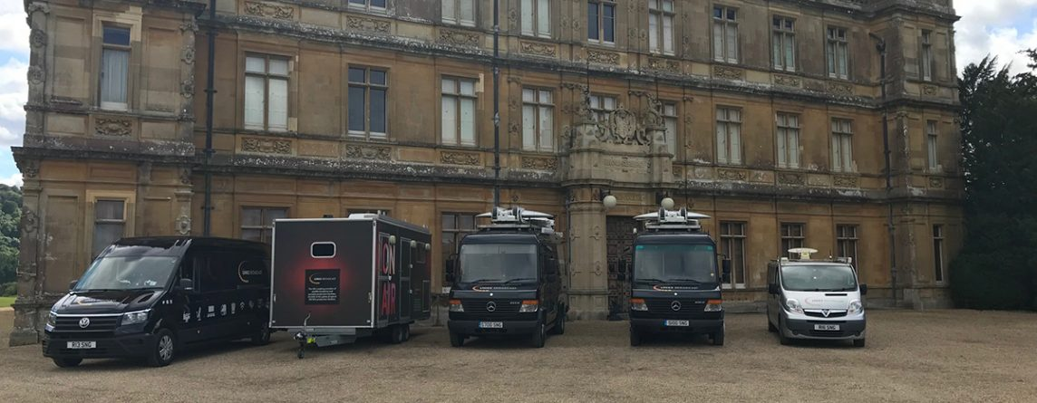 Downton Abbey Uplink Provider OB Production Links Broadcast