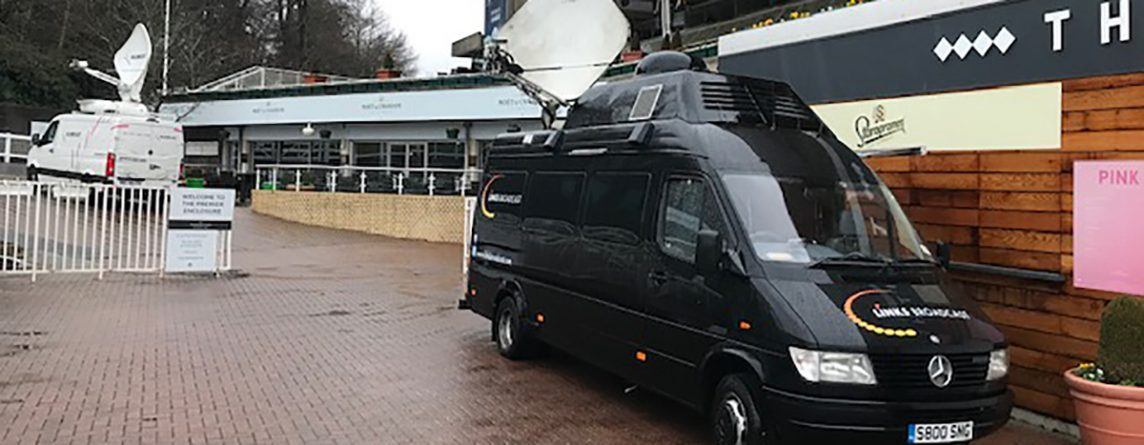 Election Satellite Uplink Trucks Links Broadcast