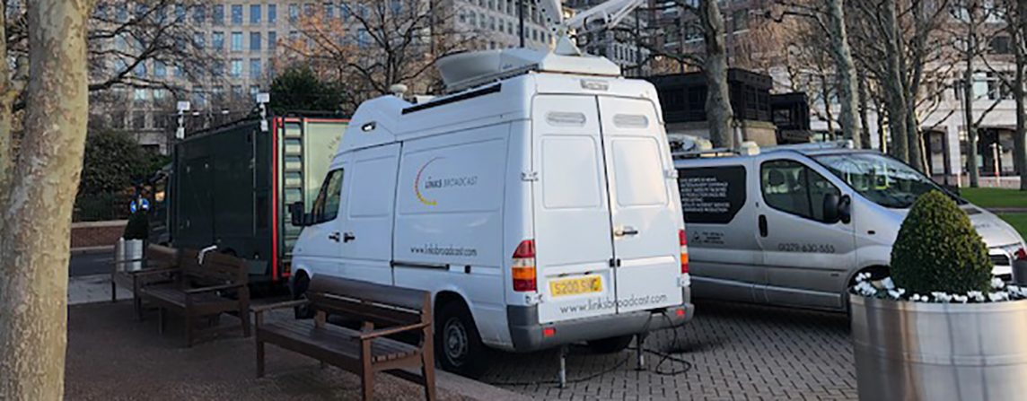 Links Broadcast Canary Wharf