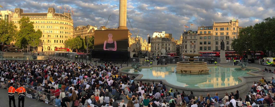 Royal Opera House BP Big Screens 2019 Links Broadcast