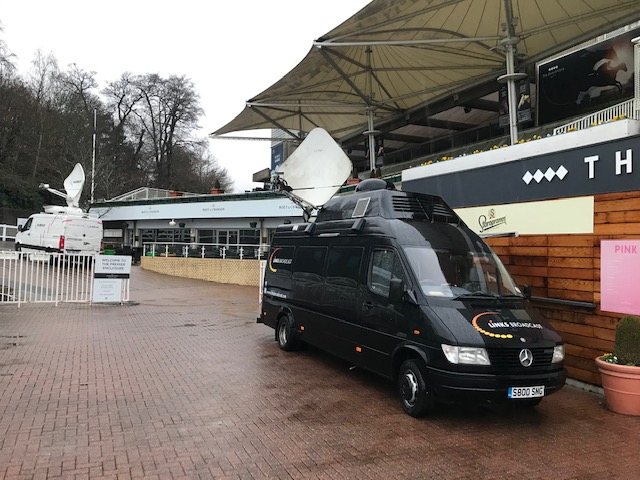 Satellite Uplink Trucks Election Links Broadcast