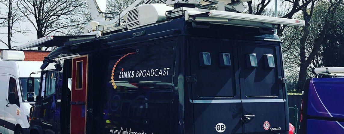 4K European Football Outside Broadcast Sports Links Broadcast