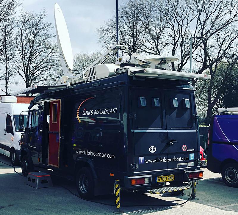 4K European Football Links Broadcast