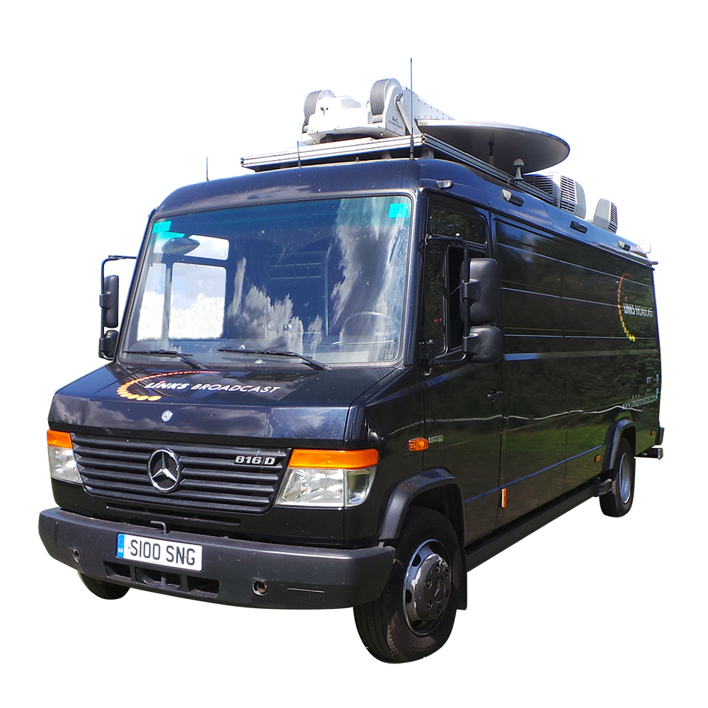 S100 SNG Truck Links Broadcast