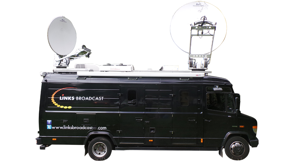 S100 SNG Truck Dishes Up Links Broadcast