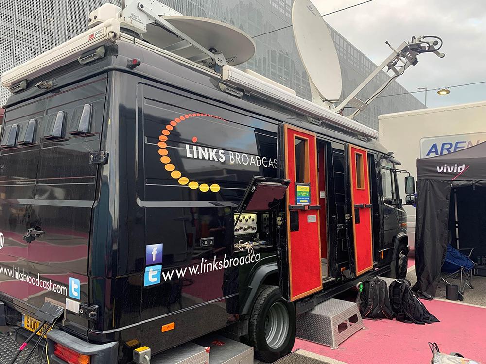 OB Production Links Broadcast 1