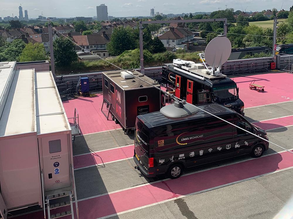 S100 Uplink Truck Links Broadcast